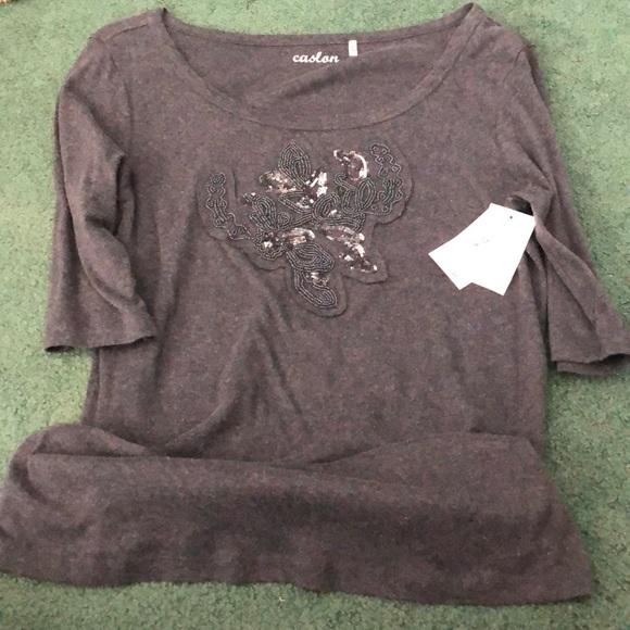 Caslon Tops - NWT- Caslon T-shirt size XL